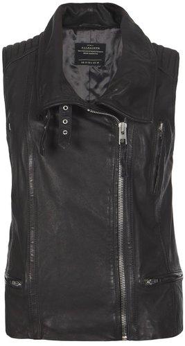 Leverne Leather Gilet