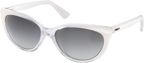 Vogue White Cats Eye Sunglasses
