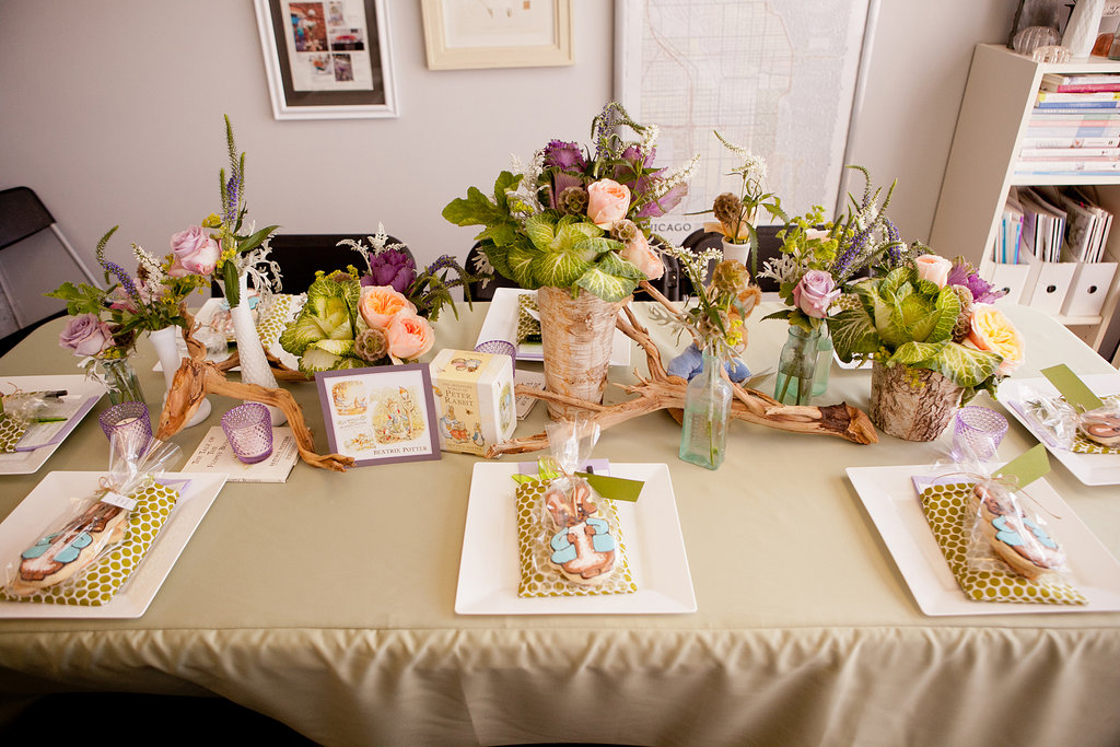 A beatrix potter table center of attention 12 ways to for Beatrix potter bedroom ideas