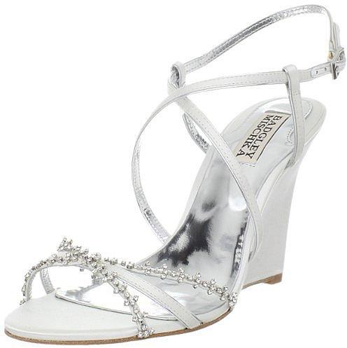 Badgley Mischka Women's Gisele Wedge Sandal