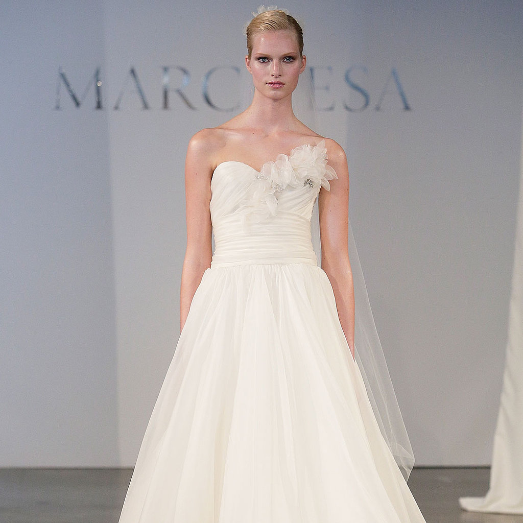 Meghan Mccain Wears Marchesa Wedding Dress: Bridal Fashion Week Spring 2014 Runway & Pictures