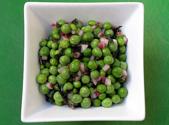 Spring Pea and Mint Salad