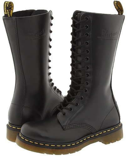 Dr. Martens - 1914 W (Black Smooth) - Footwear