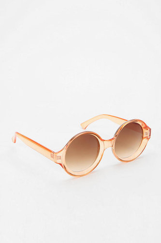 Quay Willow Round Sunglasses