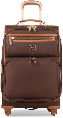 "Diane von Furstenberg Suitcase, 20"" Private Jet II Rolling Carry On Expandable Spinner Upright"