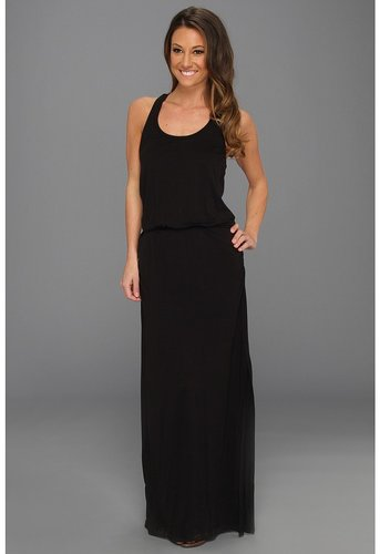 Splendid - Maxi Tank Dress (Black) - Apparel