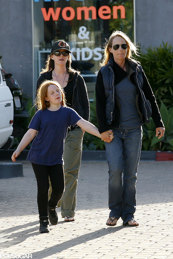 Helen Hunt held onto her daughter, Makena Lei Carnahan, in LA.