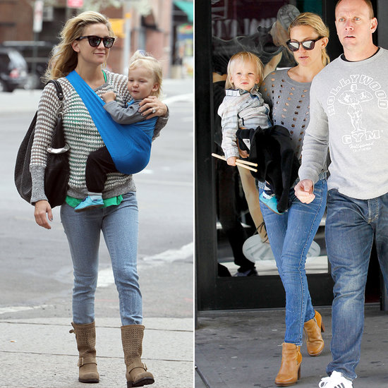 Kate Hudson Celebrates Her Birthday Weekend With Her Boys in NYC