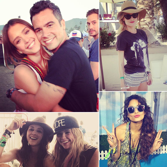 Celebrity Social Snaps From Coachella