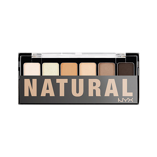 The no-makeup makeup look is easy to pull off with this NYX Natural Palette ($10), which has neutral eye shadow shades to suit every skin tone.