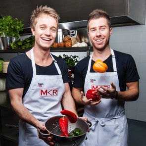 My Kitchen Rules 2013 Sam and Chris Elimination Interview