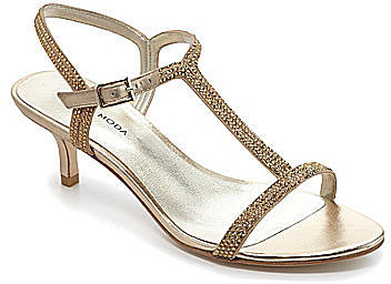 Pelle Moda Fact Low-Heel Sandals