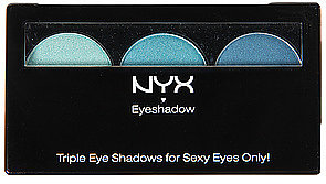 *Accessories Boutique The NYX Eyeshadow Trio in Aqua Marine