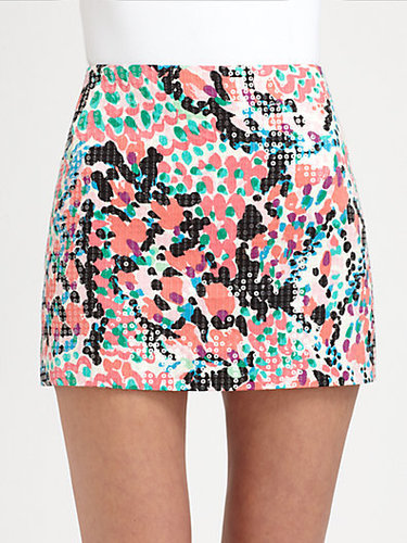 Lilly Pulitzer Sequin-Detail Tate Skirt
