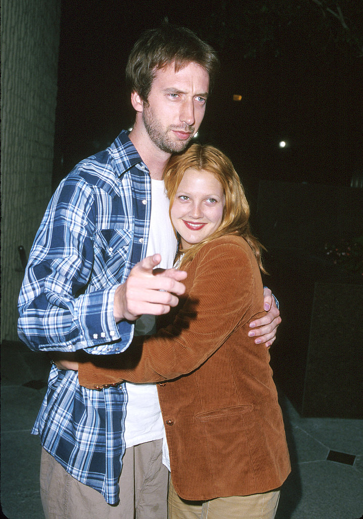Drew Barrymore married comedian Tom Green in July 2001, and Tom filed for divorce in December of that year. The comical duo starred together in Charlie's Angels and Tom's Freddy Got Fingered before calling it quits.
