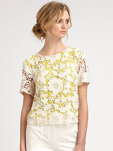 By Malene Birger Lace Top