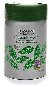 Physicians Formula Organic Wear Facial Makeup Remover Towelettes