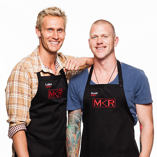 My Kitchen Rules 2013 Luke and Scott Elimination Interview
