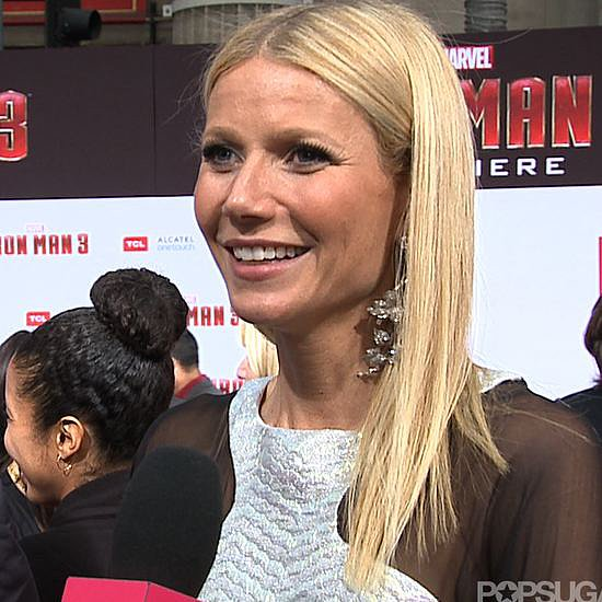 Gwyneth Paltrow Iron Man 3 Interview (Video)