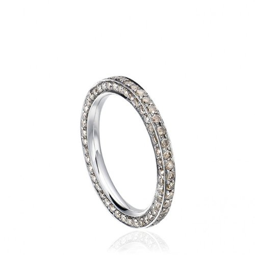 Astley Clarke Couture An Eternity Ring of Cognac Diamonds