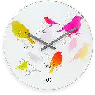 Infinity Instruments Early Bird Wall Clock