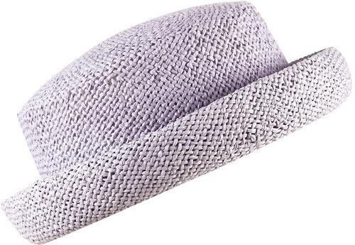 Lilac Paper Pork Pie Hat