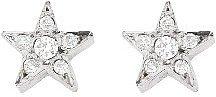 Jennifer Meyer Mini Star Studs with Diamonds - White Gold