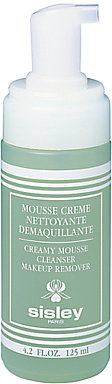 Sisley Creamy Mousse Cleanser Make up Remover, 125ml