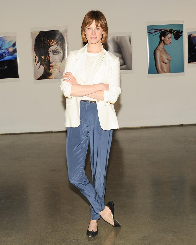 Elettra Wiedemann at the Natural Beauty book launch in New York. Source: Neil Rasmus/BFAnyc.com