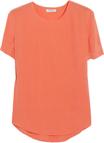 Equipment Riley washed-silk T-shirt