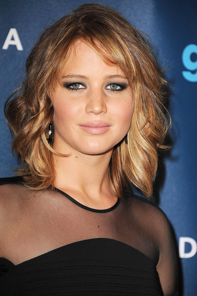 Jennifer Lawrence's new lob