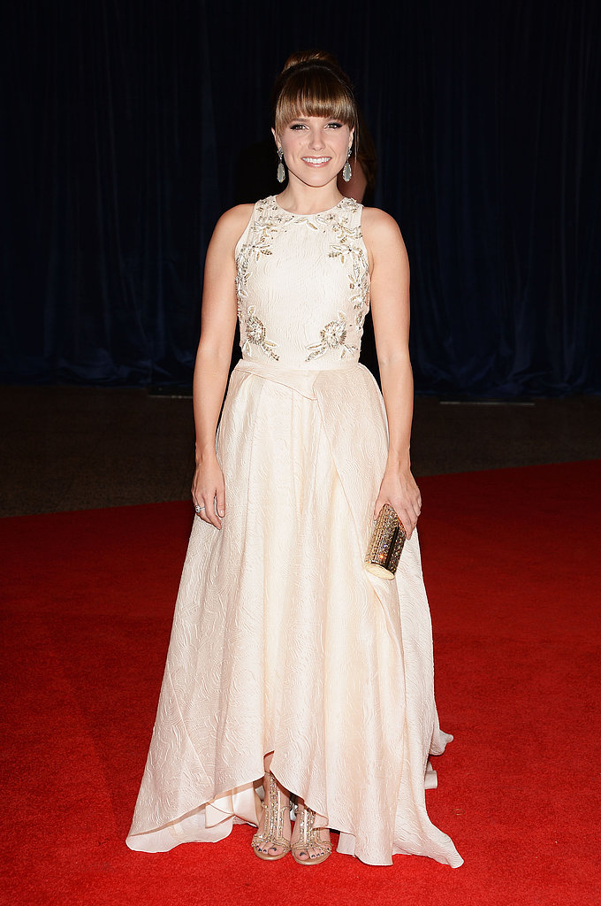 Sophia Bush attended the 2013 White House Correspondents Dinner in Lela Rose.