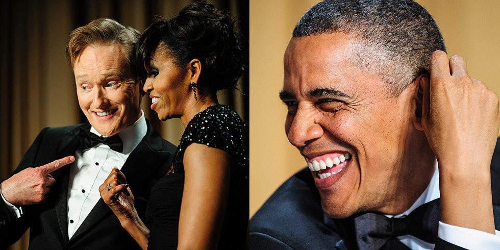 The Obamas Shine Bright Among Hollywood Stars at the White House Correspondents' Dinner
