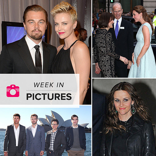 The Week in Pictures: Charlize & Leo, Kate's Bump, Reese's Arrest & More!