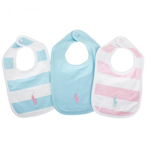 Ralph Lauren Three Pack Stripe Bib