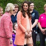 Kate Middleton Wears Tara Jarmon