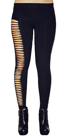 Madness Is The Ripped Stud Legging