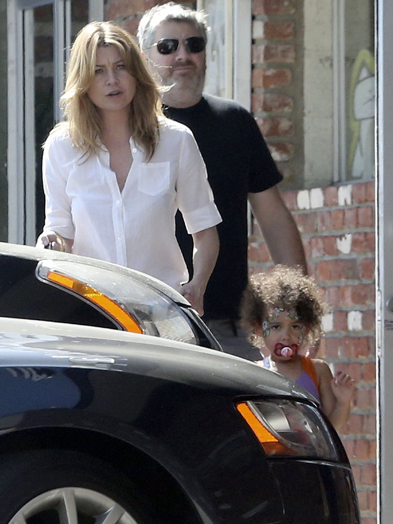 Ellen Pompeo took her daughter, Stella Ivery, to an LA pet store.