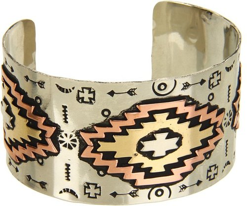 Gypsy SOULE - Aztec Cuff (Silver/Brass/Copper) - Jewelry