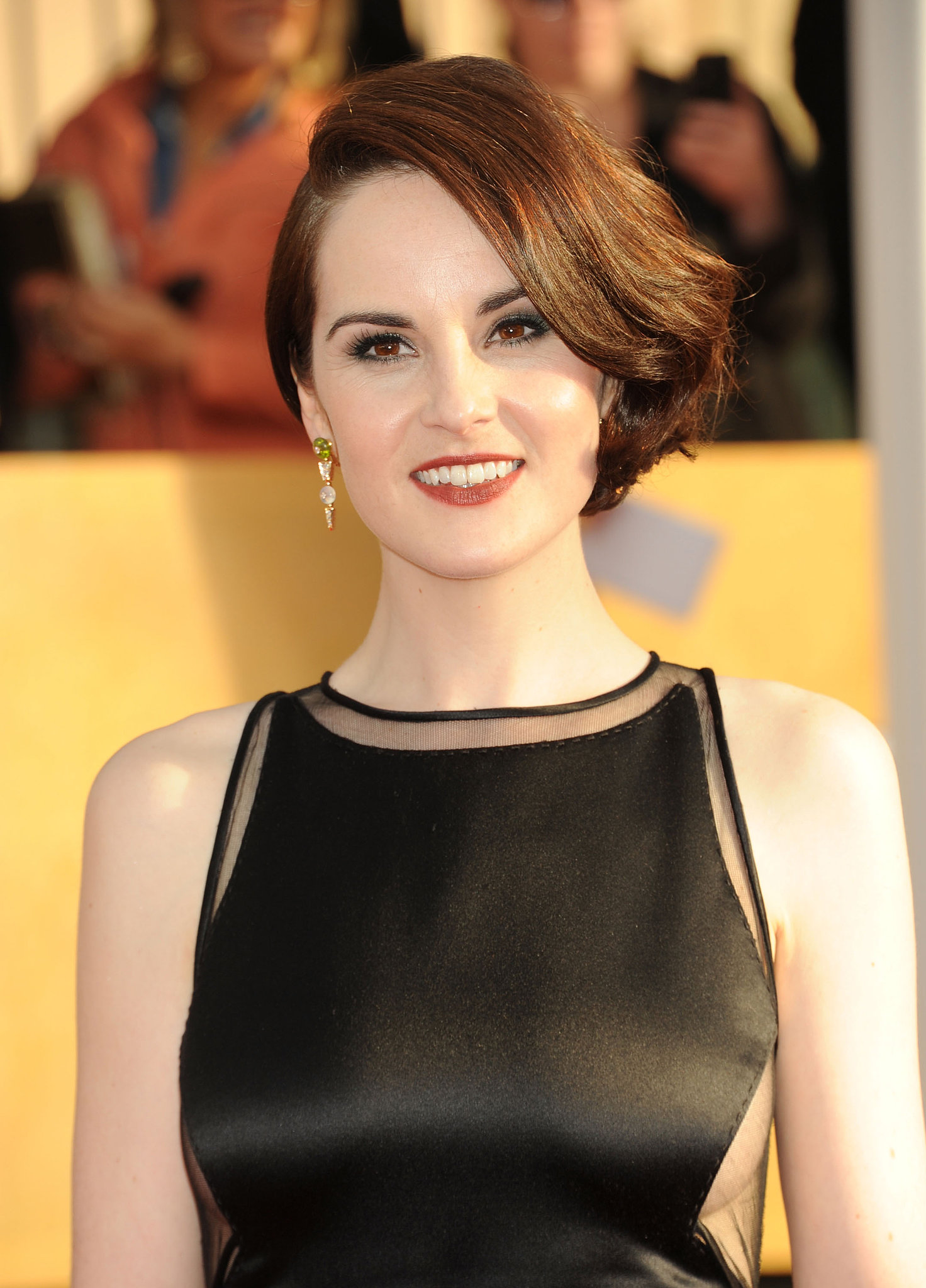 Michelle Dockery earned a  million dollar salary, leaving the net worth at 4 million in 2017
