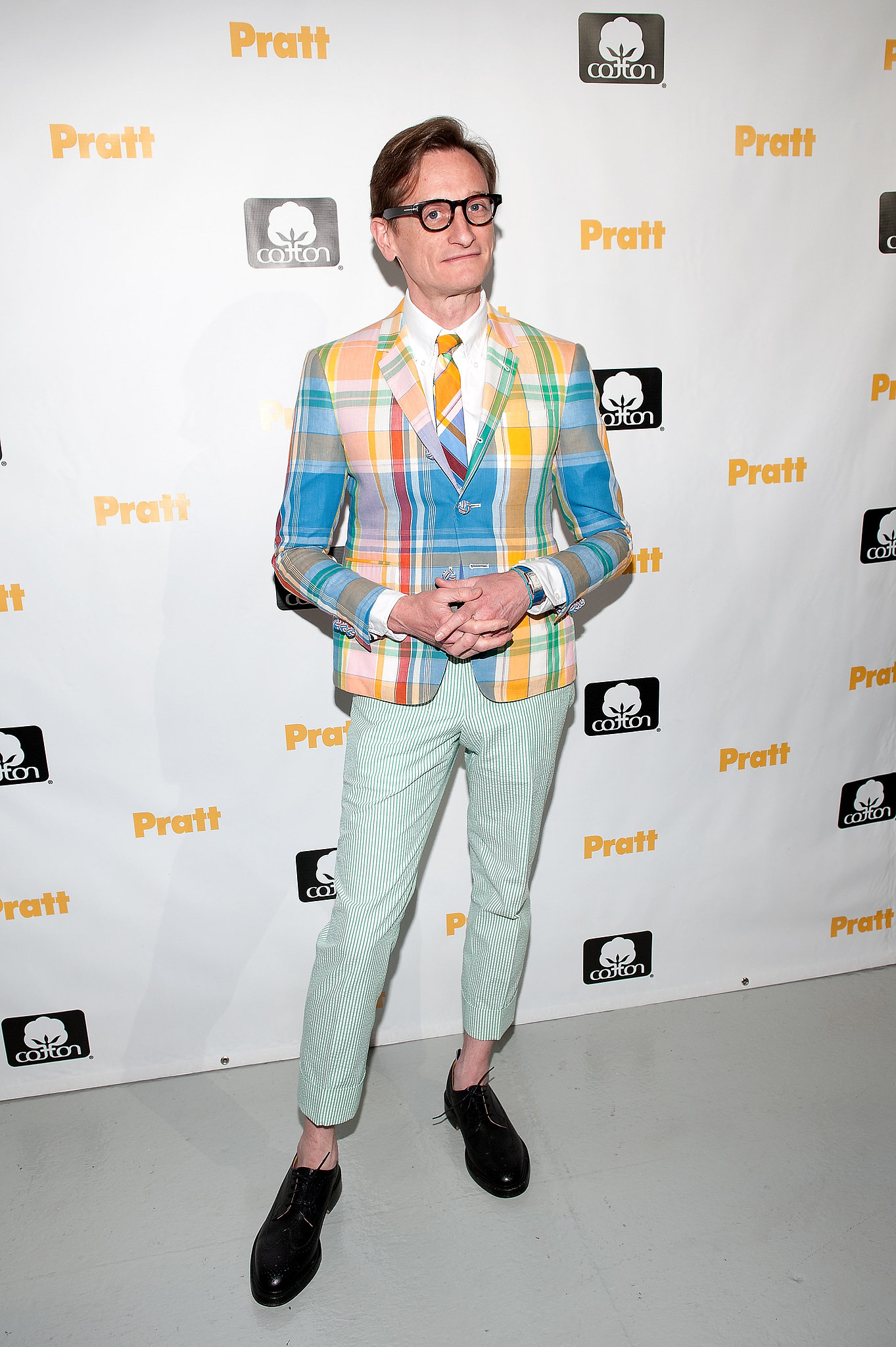 Hamish Bowles at the 114th annual Pratt Institute Fashion Show & Award Presentation in New York.
