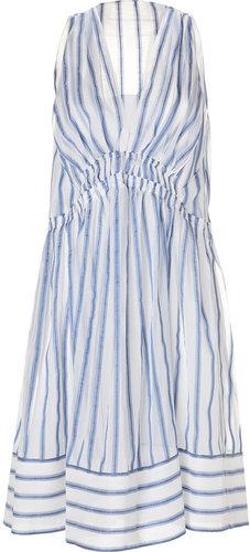 Vanessa Bruno Cotton-Silk Dress in Neptune
