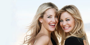 Kate Hudson and Goldie Hawn on Beauty, Motherhood, and Making Up a Maltese