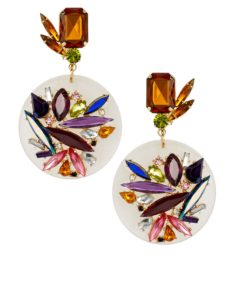 I'm in love with these ASOS Jewel Perspex Disc Earrings ($33). Clear details are a huge Spring trend, and they're an easy way to get a bit of color into your look without going overboard. I think they'd look great with a white tee and jeans, as well as a black maxi dress for going out at night. — Britt Stephens
