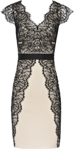 Ton Lace LACE PANEL DRESS