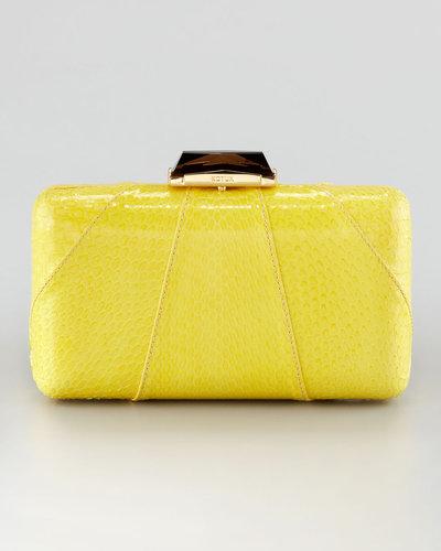 Kotur Espey Snakeskin Clutch Bag