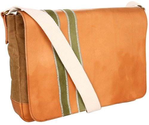 J.Fold - Roadster Messenger (Tan/Army) - Bags and Luggage