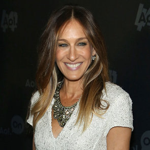 Nicole Richie and Sarah Jessica Parker at AOL Event