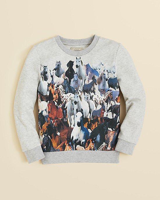 Stella McCartney Horse Print Sweatshirt