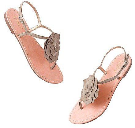 Viola Flower Sandals